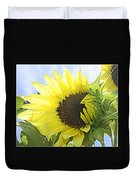 Blooming Sunflower Duvet Cover