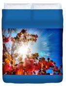 Blooming Sunlight Duvet Cover