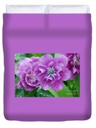 Blooming Tulips Duvet Cover