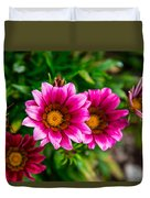 Blooming With Life Duvet Cover