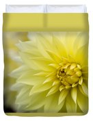 Blooming Yellow Petals Duvet Cover
