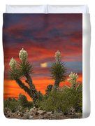 Full Blooming Yucca Duvet Cover