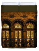 Bloomingdale's At Home In Chicago's Medinah Temple Duvet Cover