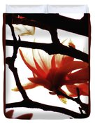 Blossom Abstract Duvet Cover