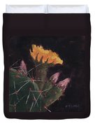 Blossom And Needles - Art By Bill Tomsa Duvet Cover