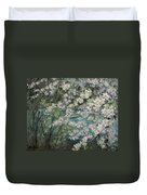 Blossoming River Duvet Cover