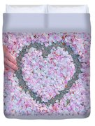 Blossoms Of Love - Cherry Blossoms 2013 - 071 Duvet Cover