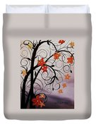 Blossoms Of The Orient Duvet Cover