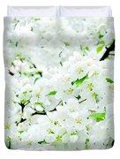Blossoms Squared Duvet Cover