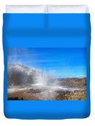 Blow Hole Blow Out Duvet Cover