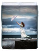 Blowing In The Wind Duvet Cover by Joana Kruse