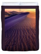 Blowing Sand At Death Valley Duvet Cover