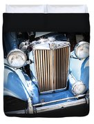 Blue 1953 Mg Duvet Cover