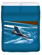 Blue 57 Chevy Bel Air Duvet Cover