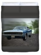 Blue 70 Charger Duvet Cover