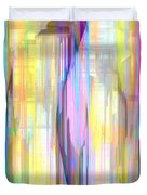 Blue Abstract 2 Duvet Cover
