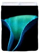 Blue Agave Vertical Duvet Cover