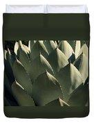 Blue Aloe Duvet Cover by Ellen Henneke