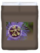 Blue And Purple Detail Duvet Cover