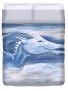 Blue And White Dragon Duvet Cover