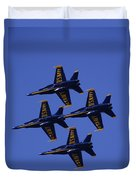 Blue Angels Duvet Cover by Bill Gallagher