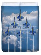 Blue Angels Duvet Cover by J Biggadike