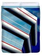 Blue Angled Duvet Cover