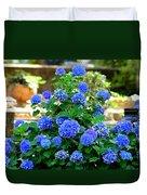 Blue At Bonaventure Duvet Cover