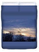 Blue At Dusk Duvet Cover