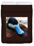 Blue Beak Duvet Cover