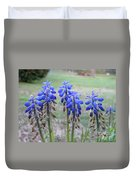 Blue Bells 1 Duvet Cover
