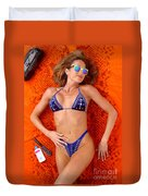 Blue Bikini 16-2p Duvet Cover