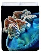 Blue Blubber Jelly - 2 Duvet Cover