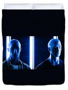 Blue Brothers Duvet Cover