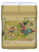 Blue Butterfly Etc - S55ct01 Duvet Cover
