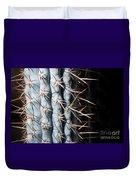 Blue Cactus Duvet Cover