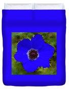 Blue Calanit Magen Duvet Cover