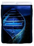 Blue Canoe Duvet Cover