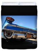 Blue Car Bumper Havana Duvet Cover