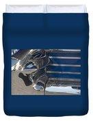 Blue Chrome Duvet Cover