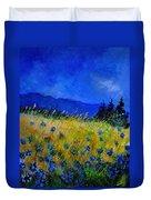 Blue Conflowers 454150 Duvet Cover