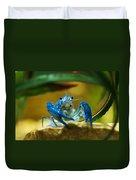 Blue Crab Duvet Cover
