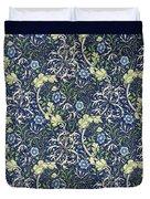 Blue Daisies Design Duvet Cover by William Morris