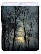 Blue Daybreak Duvet Cover