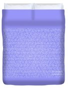 Blue Design Duvet Cover