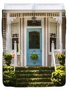 Blue Door  Ivy Stairs Duvet Cover