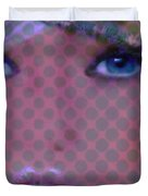 Blue Dot Duvet Cover