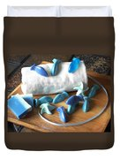 Blue Fish Mini Soap Duvet Cover