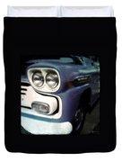 Blue Ford Pickup Duvet Cover