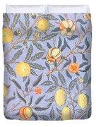 Blue Fruit Duvet Cover